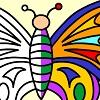 bojenje leptira