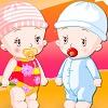 blizanci oblacenje